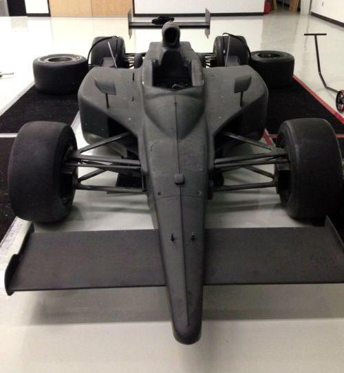 Panther/Dreyer & Reinbold pit stop practice car